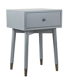 East At Main's Weeks Acacia Accent Table