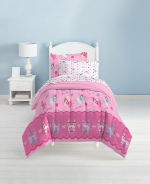 Dream Factory Magical Princess Twin Comforter Set Bedding