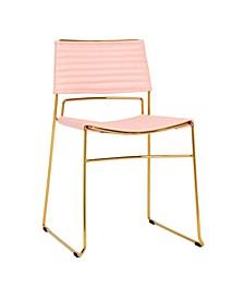 TOV Domani Vegan Leather Chair - Set of 2