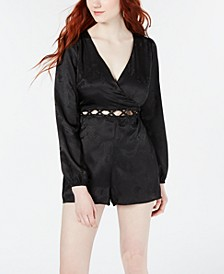 Juniors' Cutout-Waist Romper, Created for Macy's