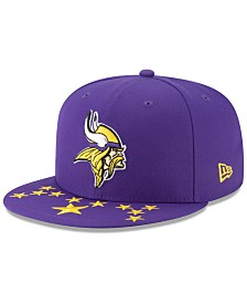 New Era Little Boys Minnesota Vikings Draft 59FIFTY Fitted Cap