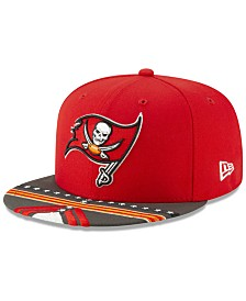 New Era Little Boys Tampa Bay Buccaneers Draft 59FIFTY Fitted Cap
