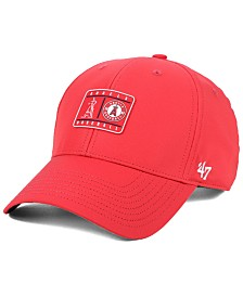'47 Brand Los Angeles Angels Silicone Patch MVP Adjustable Cap