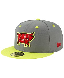 differently 50785 ae34c New Era Columbia Fireflies Copa de la Diversion 59FIFTY-FITTED Cap