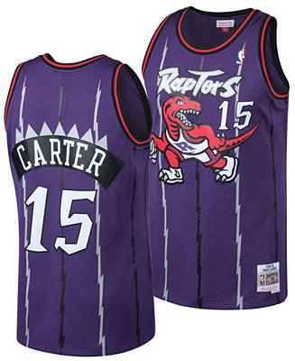 Mitchell & Ness Big Boys Vince Carter Toronto Raptors Hardwood ...