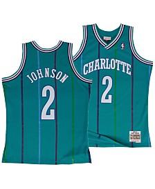 Mitchell & Ness Big Boys Larry Johnson Charlotte Hornets Hardwood Classic Swingman Jersey