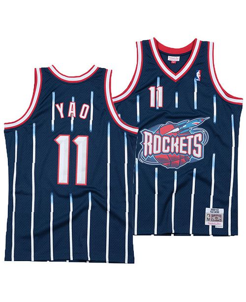 3622f0fd0 ... Mitchell   Ness Big Boys Yao Ming Houston Rockets Hardwood Classic  Swingman Jersey ...