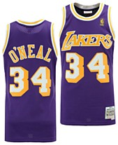0d3e7390b65 Mitchell   Ness Big Boys Shaquille O Neal Los Angeles Lakers Hardwood  Classic Swingman Jersey