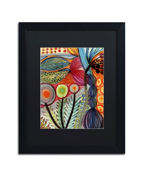 "Trademark Global Sylvie Demers 'Vivaces' Matted Framed Art - 16"" x 20"" x 0.5"""