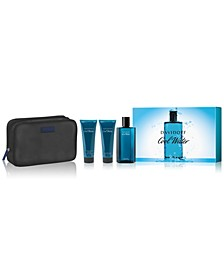 Men's 4-Pc. Cool Water Man Eau de Toilette Gift Set