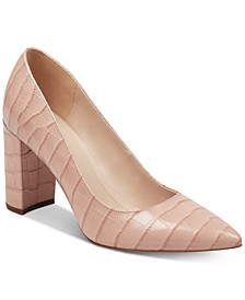 Viviene Block-Heel Pumps