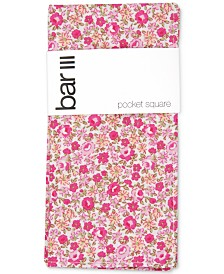 Bar III Men's Douglas Floral Pocket Square, Created for Macy's