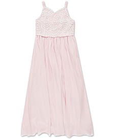 Big Girls Beaded Dress