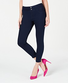 HUE® Plus Size Original Denim Capris
