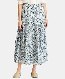Lauren Ralph Lauren Floral-Print Skirt
