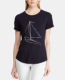 Lauren Ralph Lauren Graphic T-Shirt