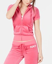 6b941f178e3457 Juicy Couture Velour Tracksuits & Sweatsuits - Macy's