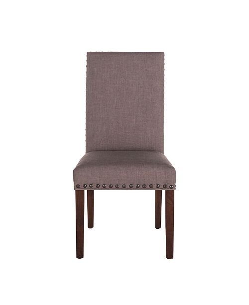 World Interiors Bristol Linen Dining Chairs, Set of 2