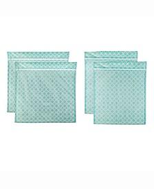 Lattice Set E Mesh Laundry Bag, Set of 4
