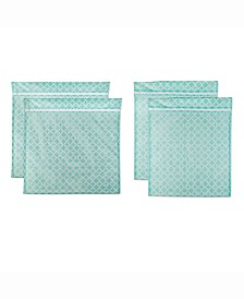 Lattice Set E Mesh Laundry Bag, Set of 4