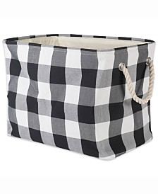 Storage Bin Buffalo Check, Rectangle