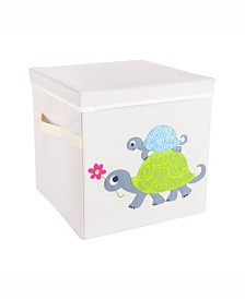 Design Import Kid Cube Turtle, Square with Lid