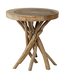 Merrill Teak Accent Table