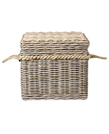East At Main's Lawton Rattan Storage Trunk