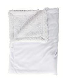 3 Stories Trading Mink Sherpa Baby Blanket