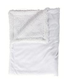 3Stories Mink Sherpa Baby Blanket