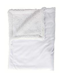 Mink Sherpa Baby Blanket