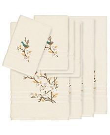 Turkish Cotton Springtime 8-Pc. Embellished Towel Set