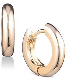 Anne Klein Huggie Hoop Earrings