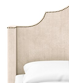 Skylands Collection Paulina Twin Wingback Headboard, Quick Ship, Created for Macy's