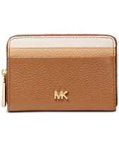 05ad4462e7af MICHAEL Michael Kors Tricolor Leather Zip-Around Coin & Card Wallet