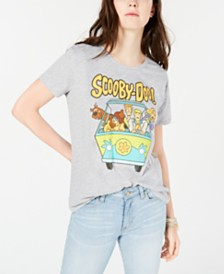 Warner Brothers Juniors' Scooby Doo Graphic-Print T-Shirt