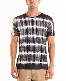 Men's South Sea Pulse Stripe Tie Dye Crewneck Tee