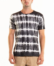 Original Paperbacks Men's South Sea Pulse Stripe Tie Dye Crewneck Tee