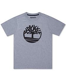 Timberland Big Boys Alton Big Tree Logo T-Shirt