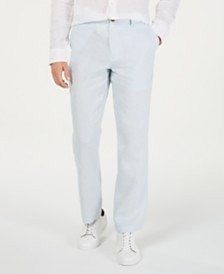 Tasso Elba Men's 100% Linen Pants, Created for Macy's