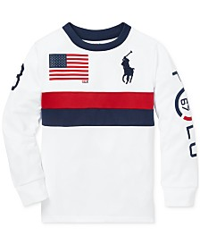 Polo Ralph Lauren Little Boys Performance Graphic T-Shirt