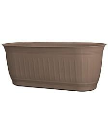 "Colonnade Wood Resin 24"" Window Box Planter"