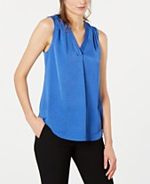 c6b55ad51c73f Alfani Satin V-Neck Tank Top, Created for Macy's