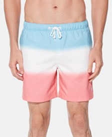 "Original Penguin Men's 6"" Colorblocked Swim Trunks"