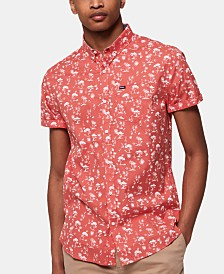 Superdry Men's Floral Chain Shirt