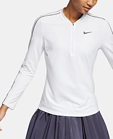 Women's Court Dry Half-Zip Tennis Top