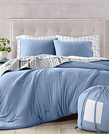 Martha Stewart Collection Essentials Jersey Comforter, Created for Macy's