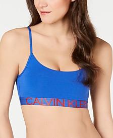 Calvin Klein Statement 1981 Logo Reversible Bralette QF5176