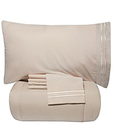 Twin 4-Pc Comforter and Sheet Set
