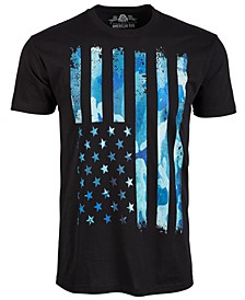 Men's Camouflage Stars & Stripes Graphic T-Shirt, Created for Macy's